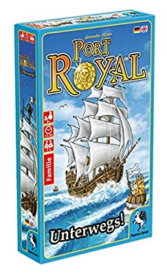 Pegasus Spiele 20018 G – Port Royal déplacements Jeu de cartes