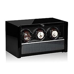 Modalo Clasico MV3 Uhrenbeweger für 3 Automatikuhren in carbon 3303883