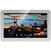 "i-Joy Memphis - Tablet de 10.1"" (Dual Core, 4 GB, pantalla multitáctil de 10.1""(1024 x 600 píxeles), blanco"