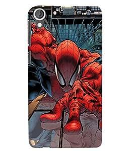 Citydreamz Spiderman Hard Polycarbonate Designer Back Case Cover For HTC DESIRE 826/ HTC DESIRE 826 (CDMA+GSM)