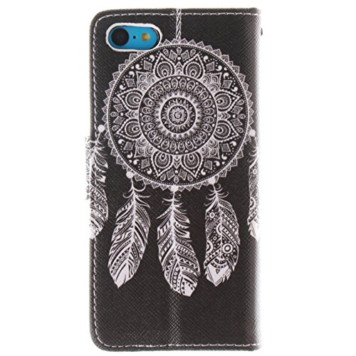 iPhone SE Coque Etui PU Leather Case Wallet Cover Flip Coque pour iPhone 5,iPhone 5S Coque Bling,iPhone 5S Coque Portefeuille Cuir Housse,EMAXELERS iPhone 5S Coque Cristal,iPhone 5S Coque Cute,iPhone  Owl Lion 7