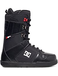 Black/Red , Size 9 : DC Men's Phase Lace Up Snowboard Boots