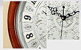ZHDC® Soggiorno Orologio da parete moderno muto The Clock pastorale stile europeo Hanging Tabella Retro creativi orologi al quarzo Home wall clock ( Colore : #2 )