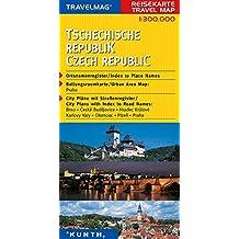 Cartes de voyage République tchèque 1 : 300 000