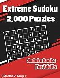 Extreme Sudoku 2,000 Puzzles: Sudoku Books For Adults: Volume 1 (Activity Book Suduko)