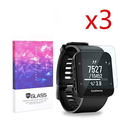 elecguru-3-x-garmin-forerunner-35-protezione-per-schermo-trasparente-9h-25d-vetro-temperato-pellicol