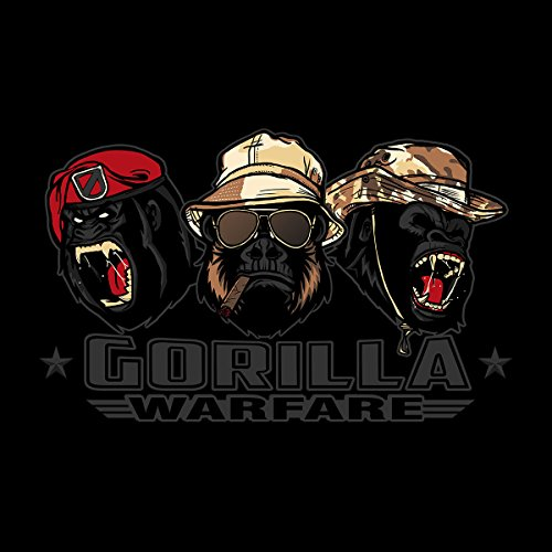 Gorilla Warfare Women's Vest Black