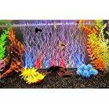 Colourful Aquarium Rs-A36 Multicolor Led Light With Air Stone Fish Tank Decoration 36Cm - 1W