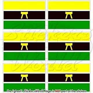 ASHANTI Flag Ghana Asante Empire, West Africa AFRICAN 40mm (1,6