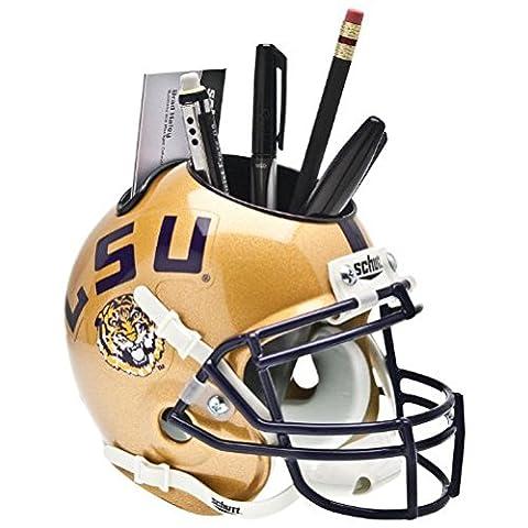 NCAA LSU Tigers Helmet Desk Caddy, Gold