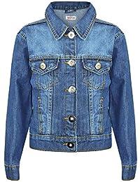 575c6d93 A2Z 4 Kids® Kids Girls Jackets Designer's Denim Style Trendy Fashion Jeans  Jacket Stylish Coats