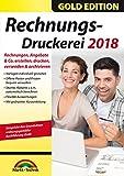 Rechnungsdruckerei 2018 - Rechnungen, Angebote, Mahnungen, Gutschriften schreiben - keine zeitliche Begrenzung