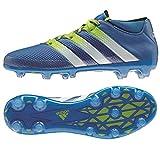 adidas Herren Ace 16.2 Primemesh FG/AG Fußballschuhe, Azul/Blanco / Verde (Azuimp/Ftwbla / Seliso), 42 2/3 EU