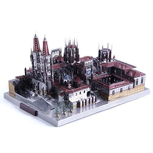 Microworld Catedral de Burgos Maqueta de Metal Kits DIY 3D...