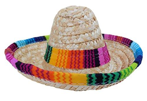 Animal Kostüm Weiblich Party - Baja Poncho Hund Sombrero Hat-Funny Hund Kostüm-Chihuahua Kleidung-Mexikanische Party Dekorationen