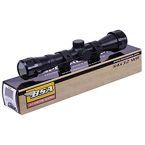 BSA WR 4x32 Telescopic Air Gun Rifle Scope Sight Supplied With 11mm 3/8 Mounts