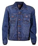 Wrangler Herren Jeansjacke Classic Jacket Blau (MID Stone 14V) XXXX-Large