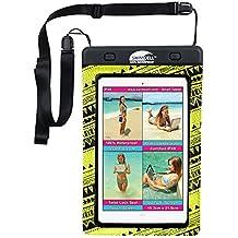 # 1–Custodia impermeabile per iPhone, Android, iPad, Tablet, Kindle, Camera, chiavi, denaro, passaporto. 4misure disponibili. swimcell di alta qualità. Certificata IPX8. Testato 10metri sott' acqua. Brevettato, facile da usare, tenuta.
