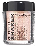 Stargazer Products Glitzer Streudose, pastel Aprikose, 1er Pack (1 x 5 g)