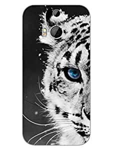 HTC One M8 Cases & Covers - Leopard - For Animal Lovers - Designer Printed Hard Shell Case