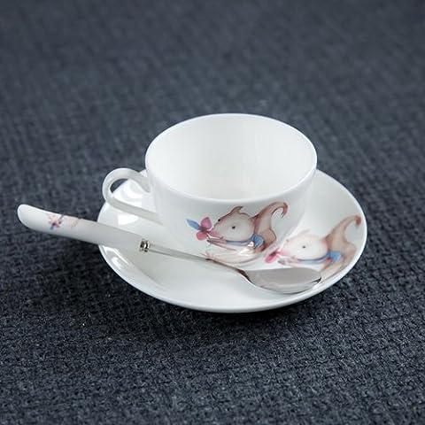 Little Poplar Porcellana tazze di caffè e