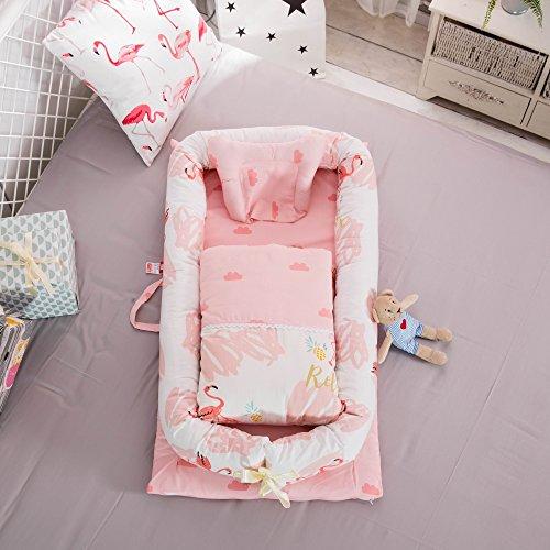 Baby Kinderbett Bett/Baby/Neugeborene Bionic Bed Isolation/Fit für 0–24Monate Baby (Liege Quilt Set)