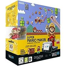 Nintendo Super Mario Maker Wii U Premium Pack - videoconsolas (Wii U, Negro, DDR3, IBM PowerPC, AMD Radeon, Super Mario Maker)