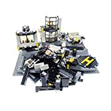 Bausteine gebraucht 1 x Lego System Teile Set für Modell Town City Police 7237 Polizei Station mit 3D Platte neu-hell grau 51542 incomplete unvollständig