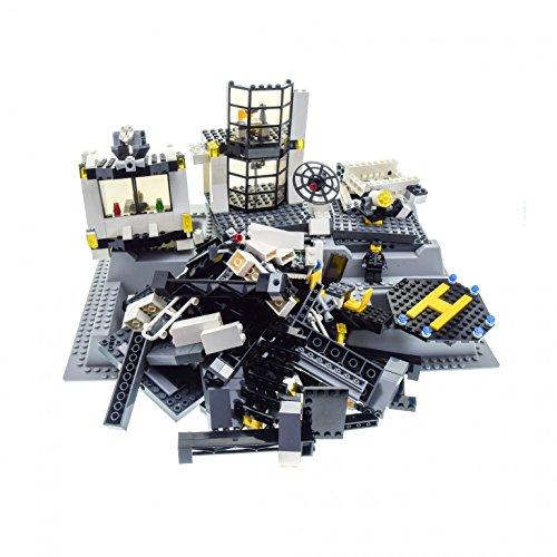 Preisvergleich Produktbild 1 x Lego System Teile Set für Modell Town City Police 7237 Polizei Station 3D Platte neu-hell grau 51542 incomplete unvollständig