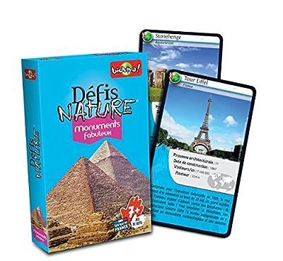 Défis Nature - Monuments Fabuleux Jeu de Cartes, 200561