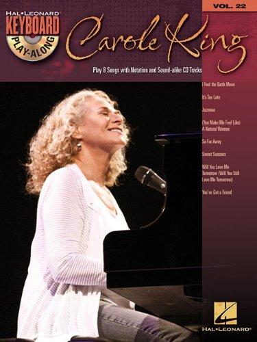 Carole King [With CD (Audio)] (Hal Leonard Keyboard Play-Along, Band 22)