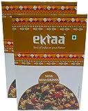 #1: Ektaa Big Bazaar Combo SOYA Chunks - Mini, 200g (Buy 1 Get 1, 2 Pieces) Promo Pack