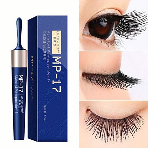 Luccase 10ML Blau Wimpern Wachstum Wimpernverstärkendes Wimpernwachstum Flüssiges Serum Wimpernverstärker Latisse Flüssigkeit Wimpernwachstumsöl -