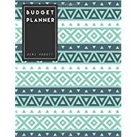 2017 Budget Planner: Geometric Large budget planner, (8.5x11 inches) : Expense tracker for 24 Months: Volume 1