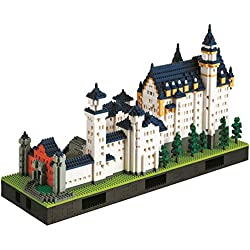 Nanoblock: Neuschwanstein Castle Deluxe Edition Set (japan import)