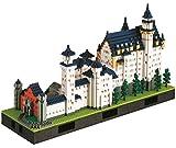 nanoblock NB-009 - Schloss Neuschwanstein Deluxe Edition, Minibaustein 3D-Puzzle, Advanced Hobby Series, 5800 Teile, Schwierigkeitsstufe 7, für Experten