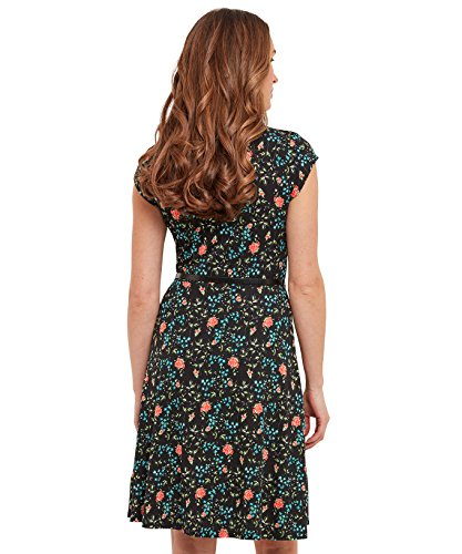 Joe Browns Ditsy Vintage Dress, Robe Femme Noir Multi