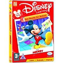 Disney Learning Get Ready For School With Mickey Ages 4-6 (PC)