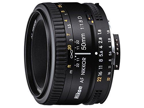 Nikon 50mm f/1.8D AF NIKKOR Negro - Objetivo (6/5, Negro, 6,3 cm, 5,2 cm, 3,9 cm, 160 g)