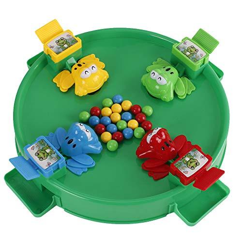 mi ji Brettspiel Toy Hungry Frog Essen Beans Toy Spiel Set Spiel für Eltern Interactive Puzzle Spielzeug für 4 Spieler am 1. September