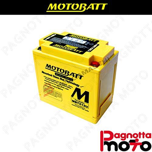 E06023 BATTERIA BATTERY PRECARICATA MOTOBATT MBTX12U KYMCO B&W 250 2000>2000 12 V 14_0 AH 151 X 87 X 130 MM ACIDO