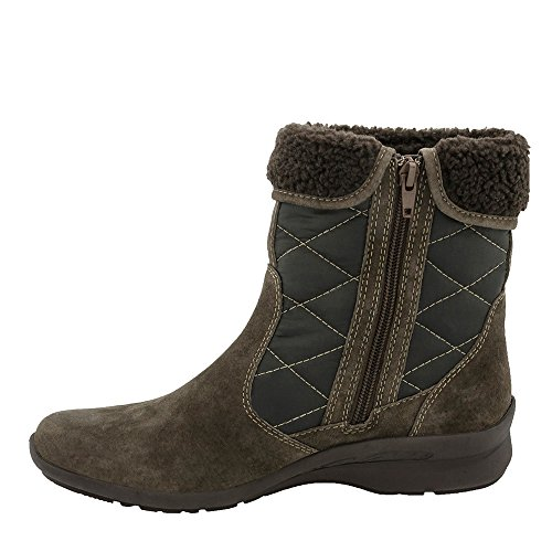 Earth Pinnacle Rund Wildleder Mode-Stiefeletten Chestnut