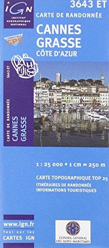 Cannes / Grasse / Côte d'Azur gps (Ign Map) par Institut Geographique National