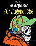 Malbuch für Jugendliche: Illustrationen für Jungen