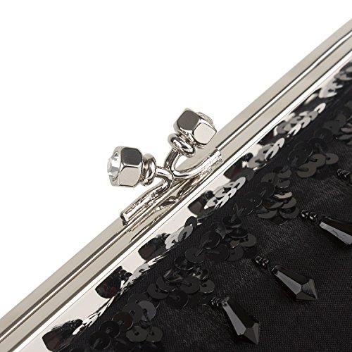 Farfalla 90344, Pochette donna Nero (nero)