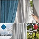 ProBache - Rideau thermique isolant anti froid pour fenêtre