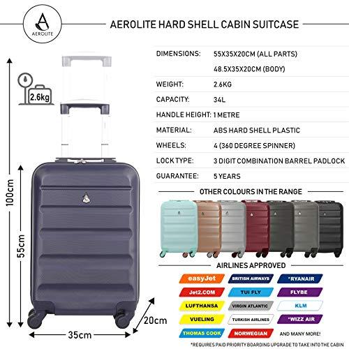 Aerolite ABS Equipaje de Mano