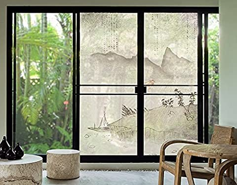 XXL Window Mural no.MW8 Japanese Silence, Dimensions:380cm x 288cm