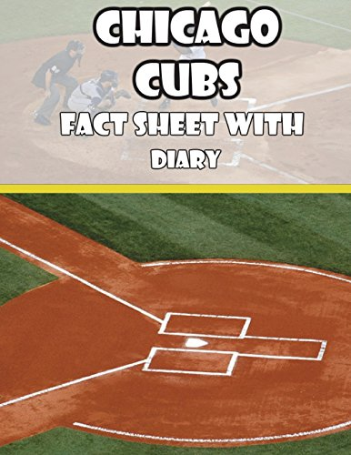 Chicago Cubs Fact Sheets with Diary por Mega Media Depot