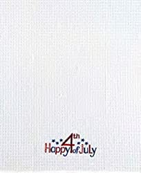 18x27 Kitchen Towel Happy 4th Of July